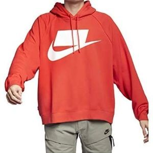 Nike Sportswear NSW French Terry Hoodie -Red - XL